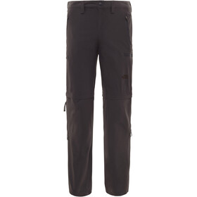 The North Face Exploration Pantalon convertible avec fermeture éclair Long Homme, asphalt grey